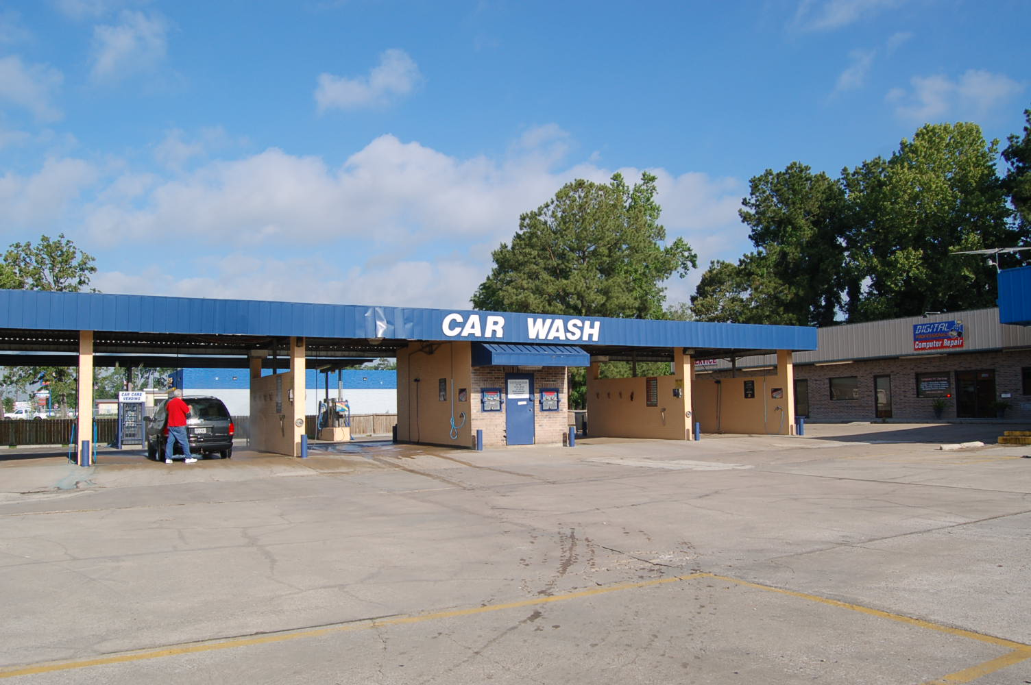 Car Real Estate: Car Wash & Strip Center For Sale In Humble Texas