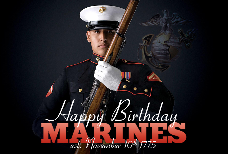 Marine Corps: Ooh Rah and Happy Birthday!