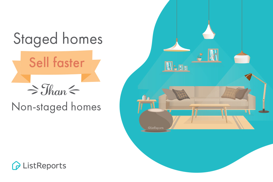 Staged Home's Sell Faster!