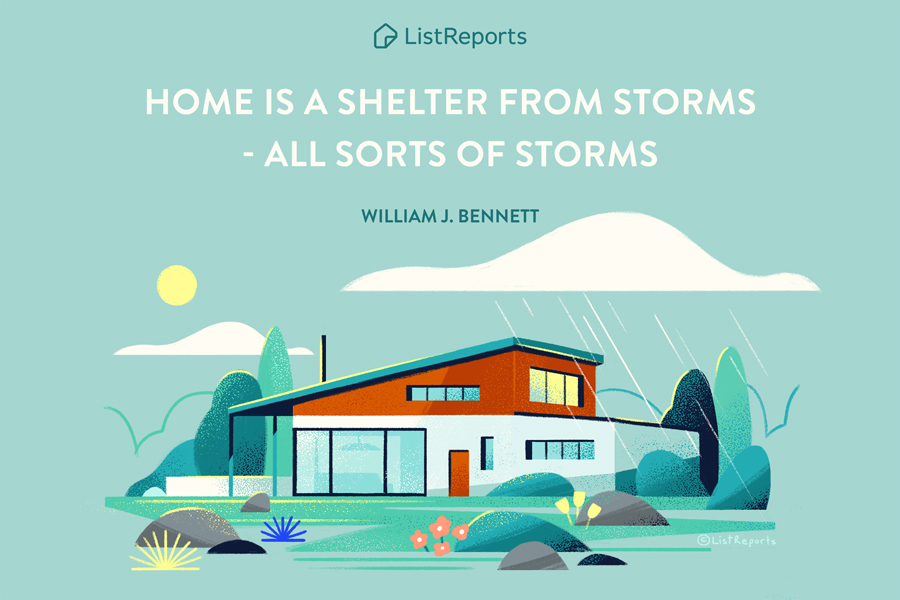 Home is a Shelter from Storms.