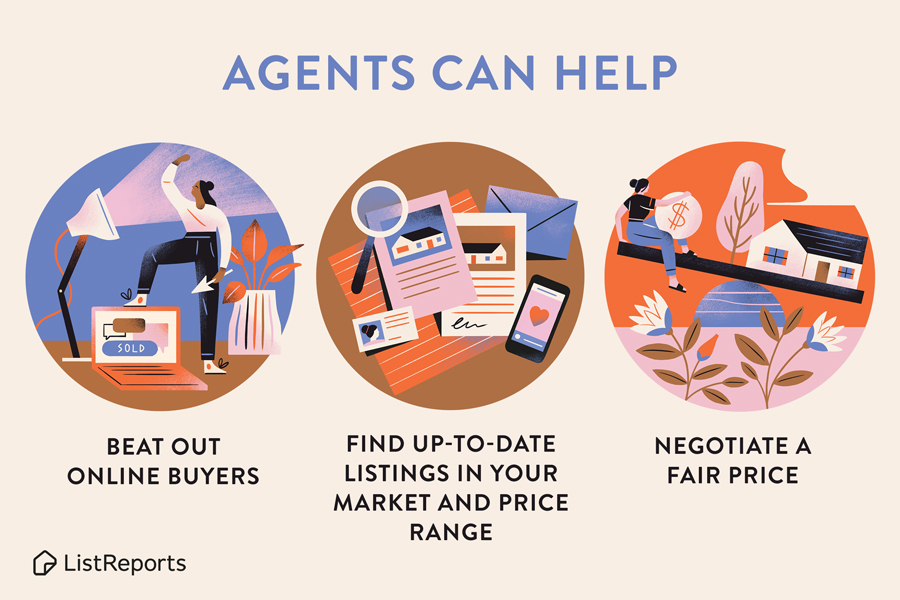 Real Estate Agents Can Help!
