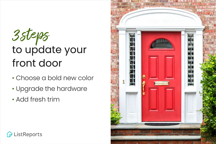 3 Steps to Update Your Front Door.